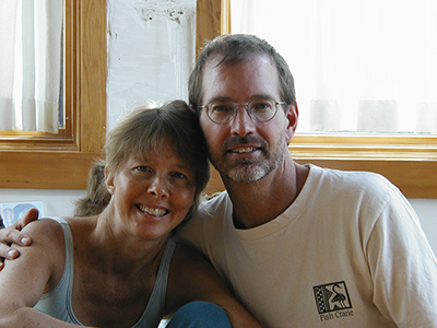 Joan Isbell and Eric Stauffer